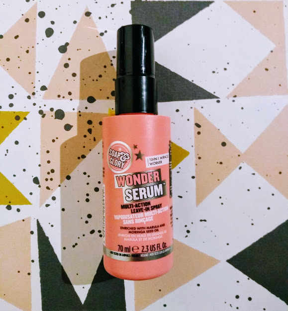 soap and glory miracle serum haircare