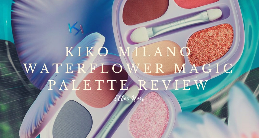 Kiko Milano Waterflower Magic Eyeshadow Palette Review