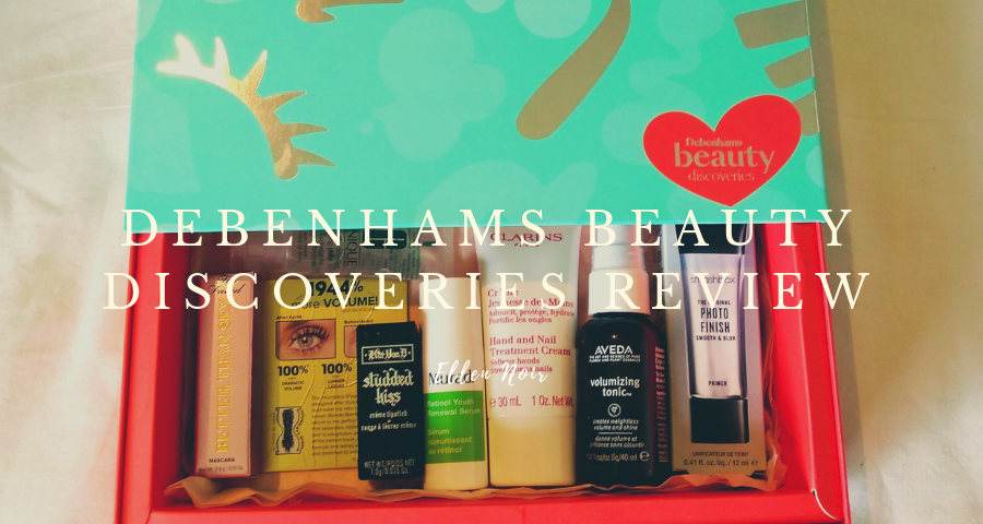 Debenhams Beauty Discoveries Box Review
