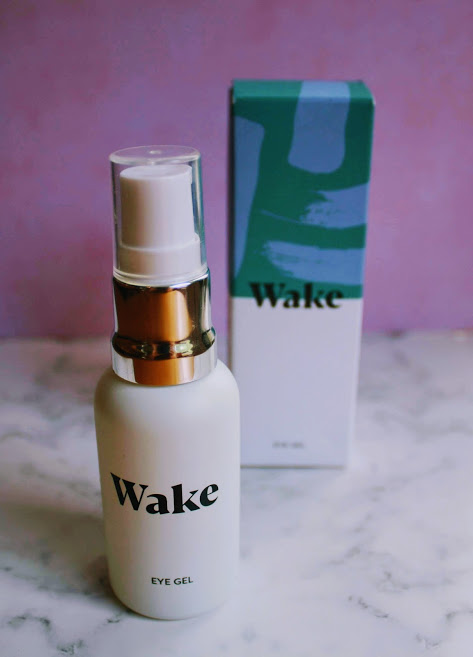 wake skincare eye gel
