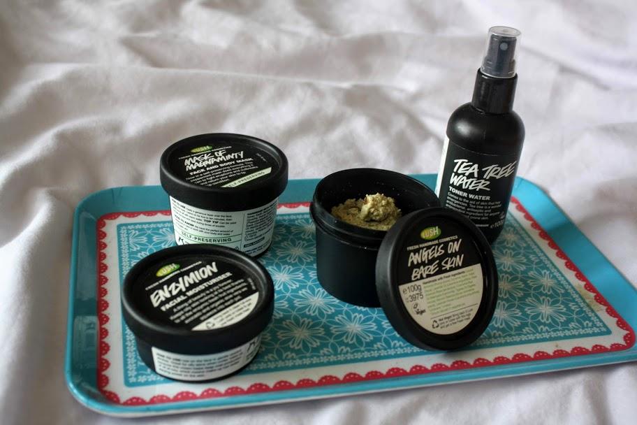 Lush skincare for oily skin