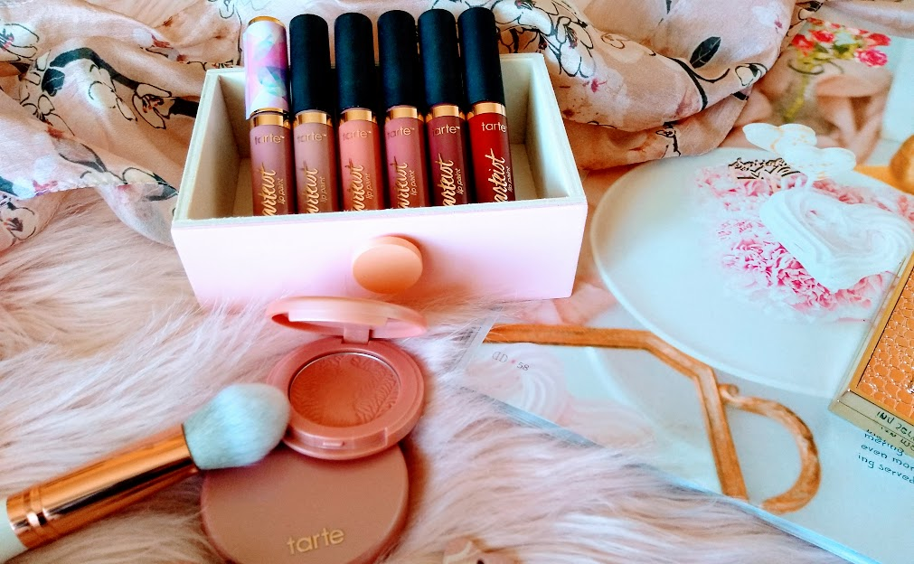 Tarte lipsticks and blush