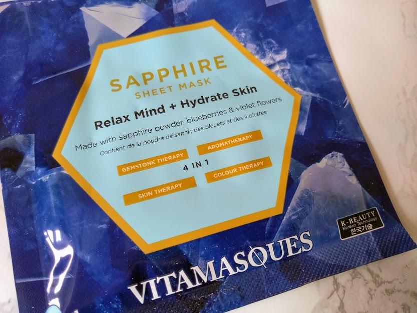 vitamasques sapphire sheet mask