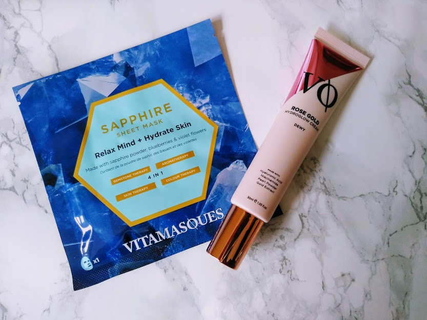 vitmasques rose gold hydroglow cream