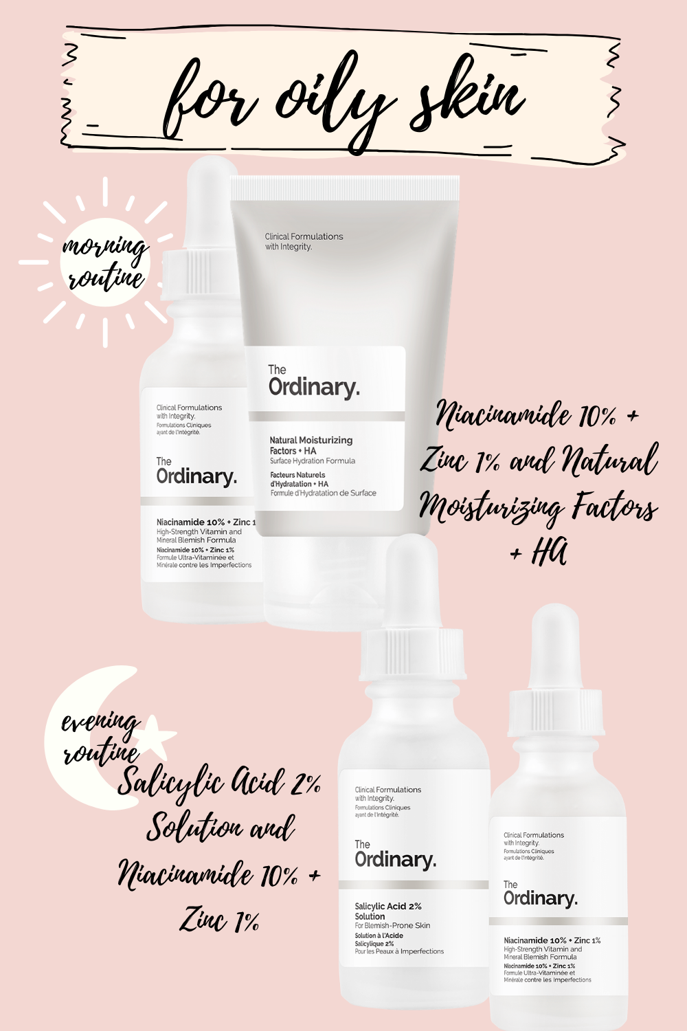 the ordinary skincare routine for oily skin