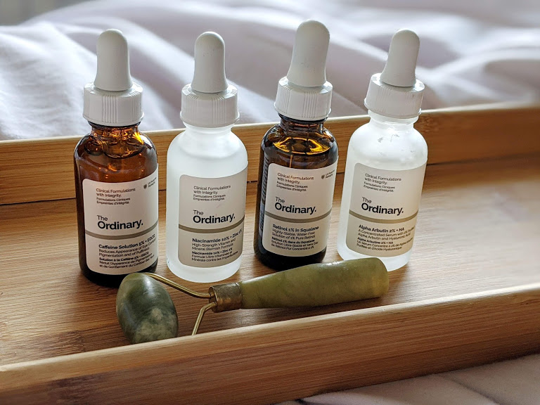 the ordinary skincare bottles
