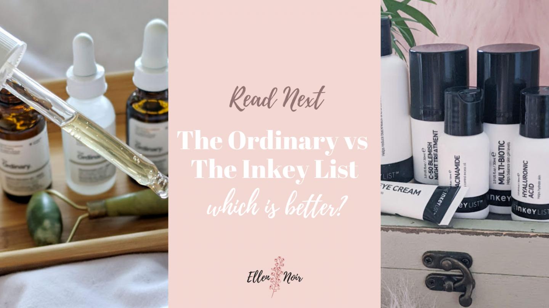 The Ordinary vs The Inkey List