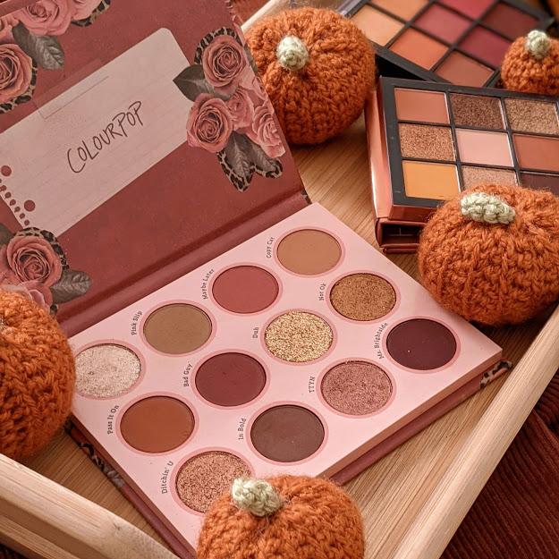 autumn eyeshadow palettes