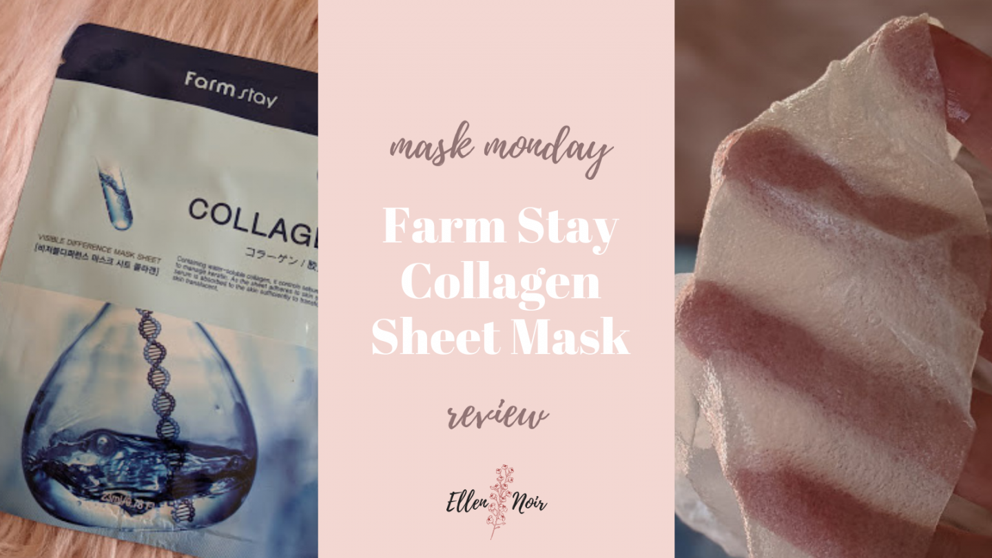 Mask Monday: Farm Stay Collagen Sheet Mask Review