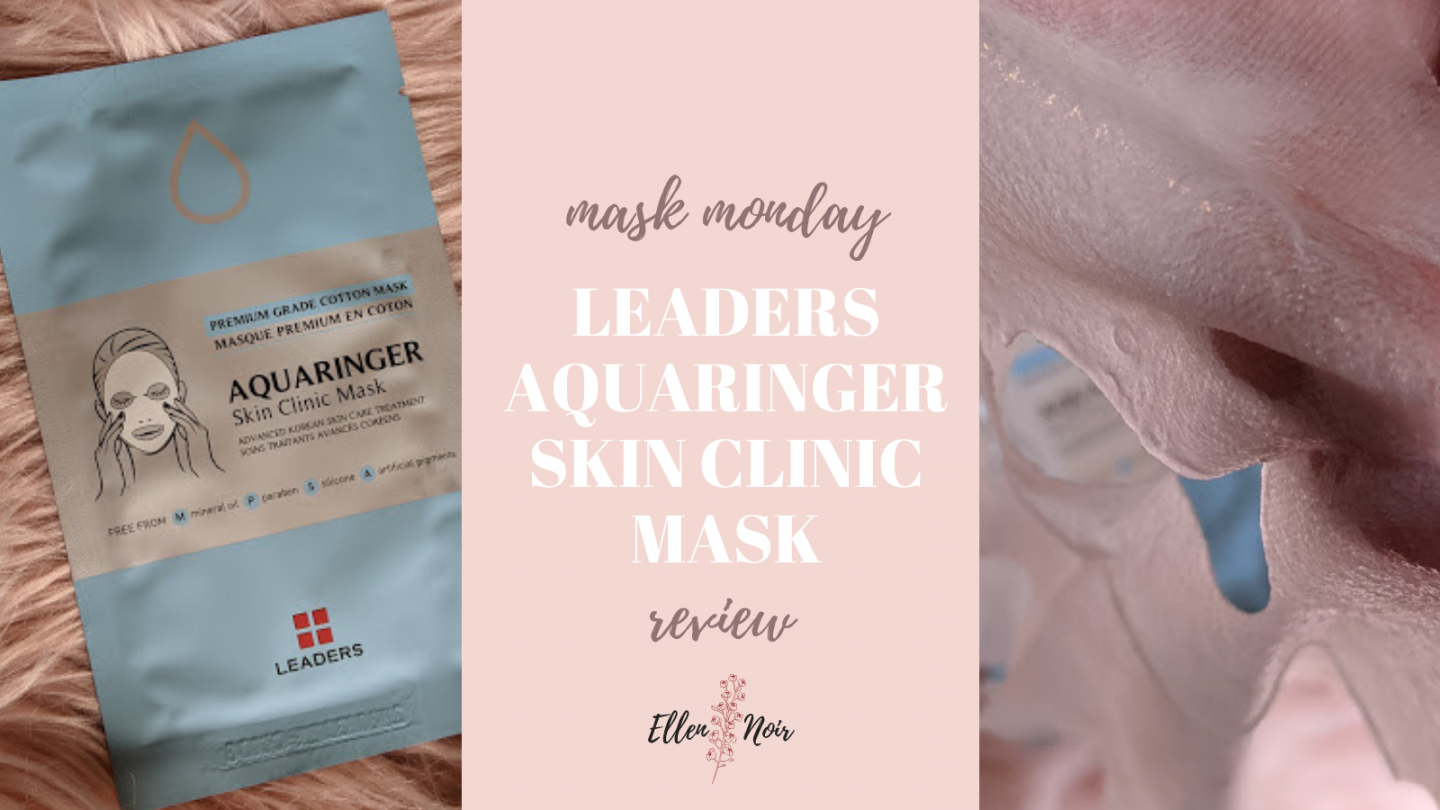 Mask Monday: Leaders Aquaringer Sheet Mask Review