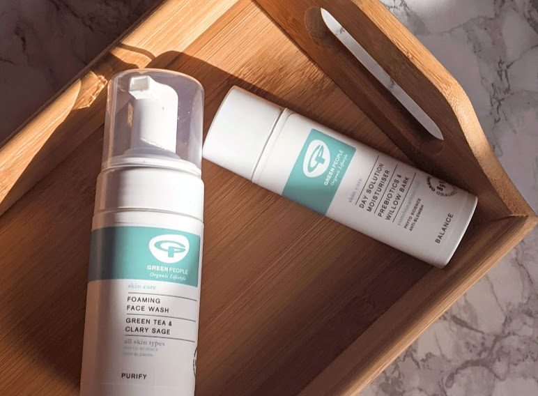 Green People Foaming Face Wash and Day Solution Moisturiser Review