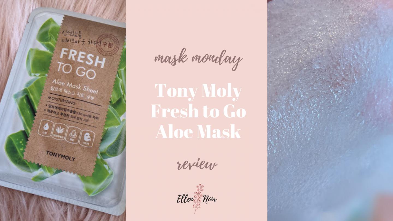 Tony Moly Fresh to Go Aloe Mask