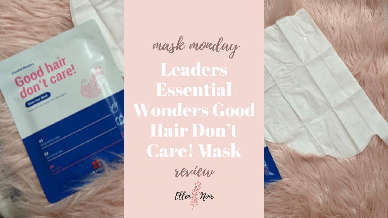 Leaders Essential Wonders Good Hair Don't Care! Mask