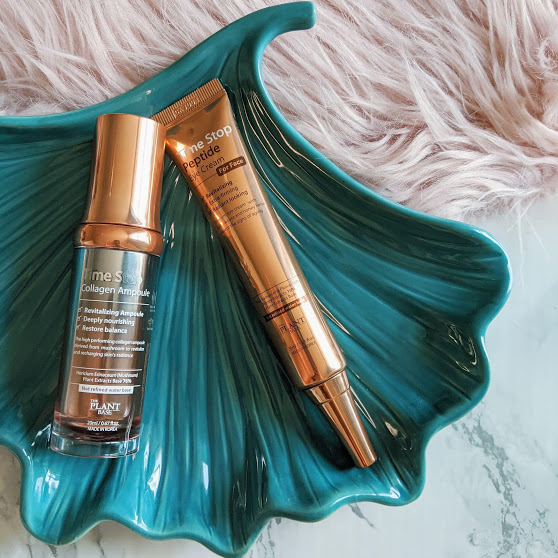 Time Stop eye cream and ampoule