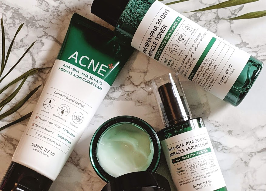 Some By Mi AHA BHA PHA 30 Days Miracle Skincare Range Review