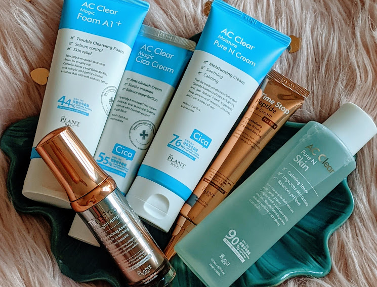 The Plant Base AC Clear & Time Stop Skincare Review