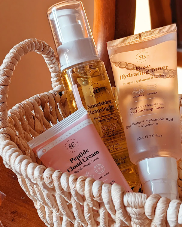 Beautaniq Beauty Skincare hydration heaven collection in a basket
